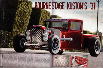 Larry Wood's 31 Ford Truck
