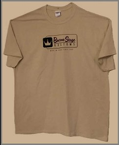 BSK New Logo T-shirt - Men's Tan (Front)