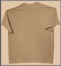 BSK New Logo T-shirt - Men's Tan (Backt)